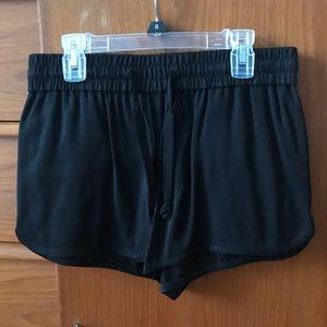 Aritzia Wilfred Free silky shorts